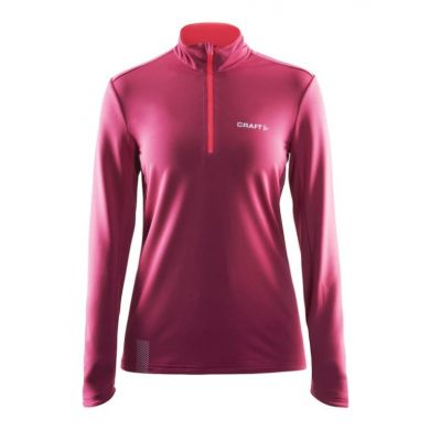 Craft Facile Half Zip Pullover Wms (Ruby/Pine)