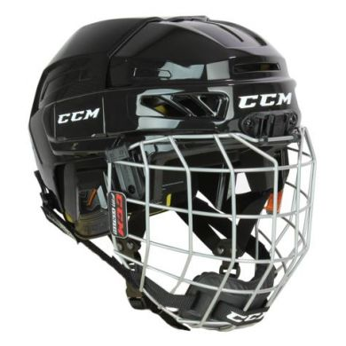 CCM HTC Fitlite 3DS Hockey Helm Combo Youth