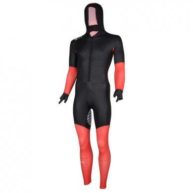 Nice Power S Suit Rubber Schaatspak (Zwart / Rood)