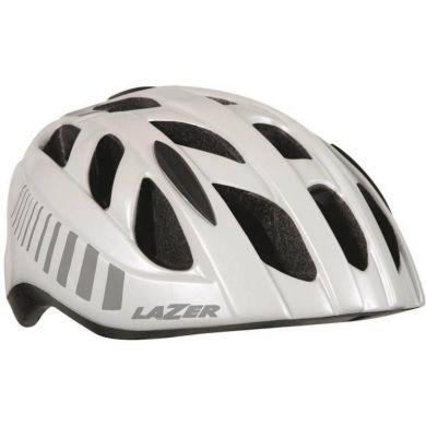 Lazer Motion Fiets Helm (Wit / Grijs)