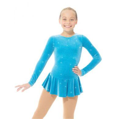 Mondor Kinder  Glitter Kunstschaats Jurkje 2711 (Turquoise)
