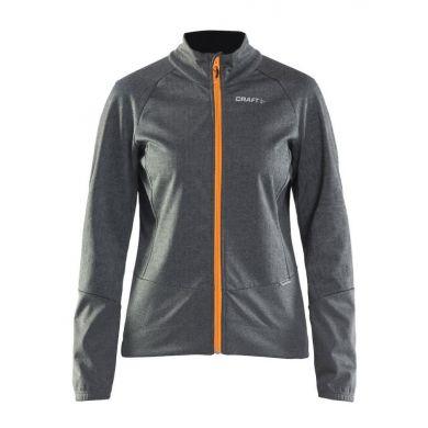 Craft Rime Jacket Dames (Grijs / Sprint)