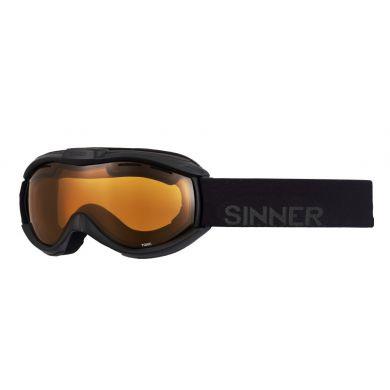 Sinner Toxic Goggle MATTE BLK-DOUBLE ORANGE VENT.