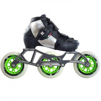 Luigino Kids Verstelbare Inline Skate Compleet (Zwart)