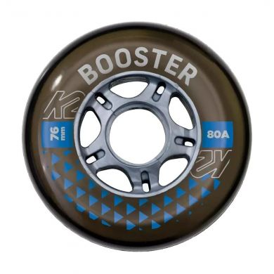 K2 Booster 76mm Inline Wiel (per 4 stuks)