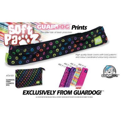 Guardog Twill Soft Schaatsbeschermer (Roze / Zwart Stip)