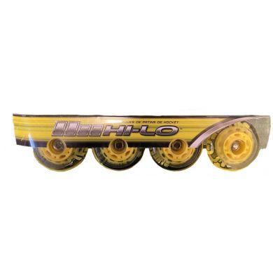 HI-LO Street Roller Hockey Wielen (4 pack)