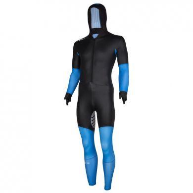 Nice Power S Suit Rubber Schaatspak (Zwart / Blauw)