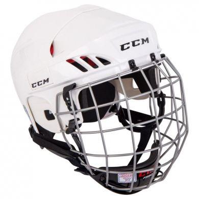 CCM HTC 50 Hockey Helm Combo