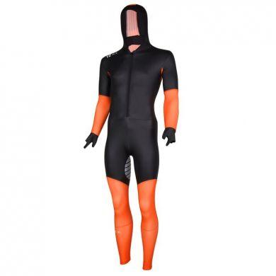 Nice Power S Suit Schaatspak (Zwart / Oranje)