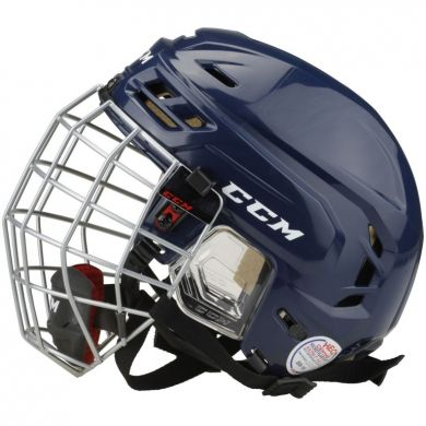 CCM HTC Tacks 110 Hockey Combo Helm (Navy)