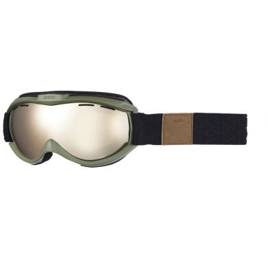 Sinner Toxic Goggle  MT MOSS GREEN-GLD MR +VENT.