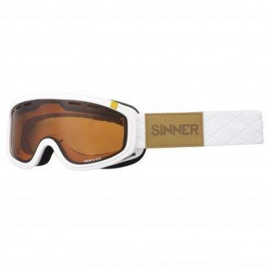 Sinner Visor Goggle III OTG MATTE WHITE-OR VENT.