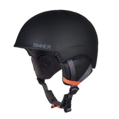 Sinner Lost Trail Ski Helm (Zwart)
