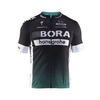 Craft Bora Hansgrohe Replica Fiets Shirt (Zwart)