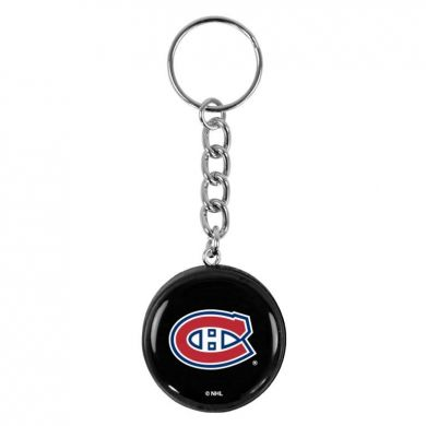 NHL Mini Puck Sleutelhanger (Montreal Canadiens)