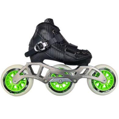 Atom Pro Kids Verstelbare Inline Skate Compleet (Zwart)