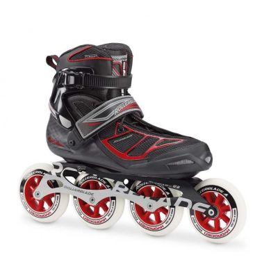 Rollerblade Tempest 100 Inline Skate (Zwart / Rood)