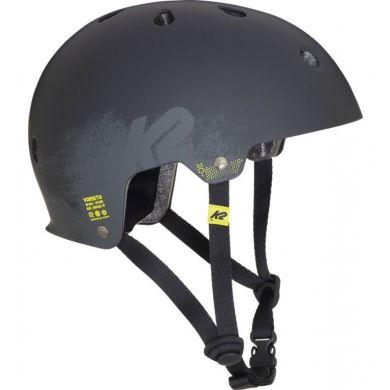K2 Varsity Kinder Skate Helm (Zwart)