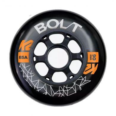 K2 Bolt 90mm Inline Wiel (per 4 stuks)