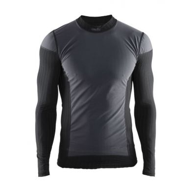 Craft Extreme 2.0 Windstopper Long Sleeve Heren Shirt  (Zwart)