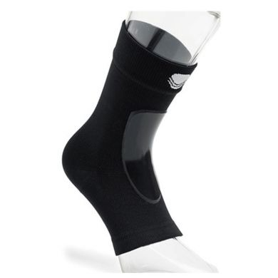 Black Shield Lace Bite Sock (per Paar)