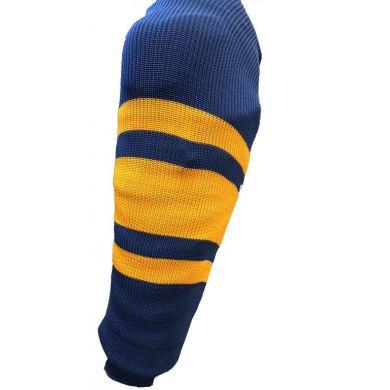 Bauer Practice Sock (Blauw / Geel)