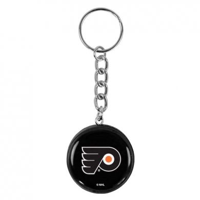 NHL Mini Puck Sleutelhanger (Philidelphia Flyers)