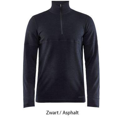 Craft Merino 240 Longsleeve Ondershirt met Rits