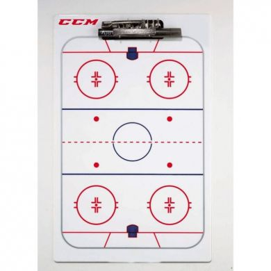 CCM Hockey Coaching Board 41x25cm