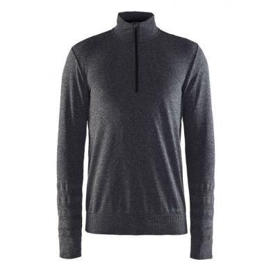 Craft Smooth Halfzip Pullover (Zwart)