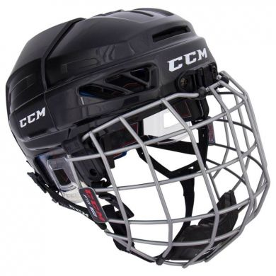 CCM HTC Fitlite 3DS Hockey Helm Combo Junior