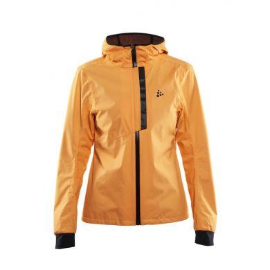 Craft Ride Dames Rain Jacket (Oranje)
