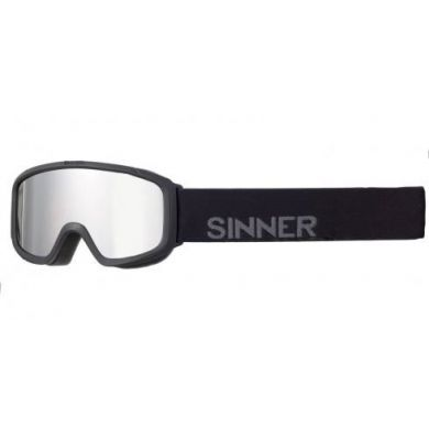 Sinner Duck Mountain Goggle MT BLK -SGLE BRN OR MR