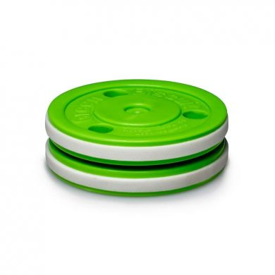 Green Biscuit Off Ice Training Puck