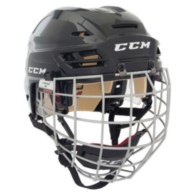 CCM HTC Tacks 110 Hockey Combo Helm (Zwart)