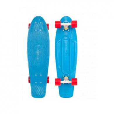 Penny Nickel Blue Cruiser Skateboard 27.0