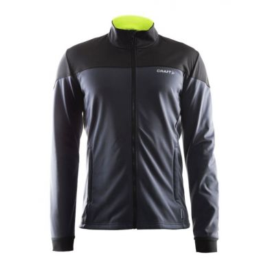Craft Voyage Jacket (Zwart/Asphalt)