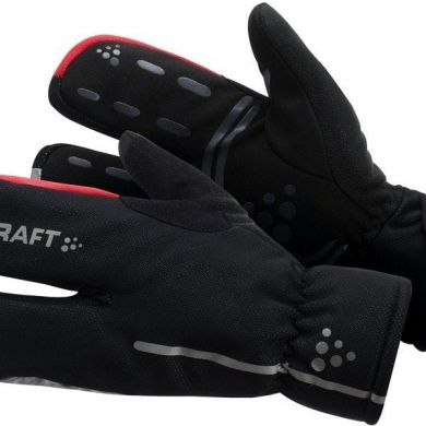 Craft Thermal Split Finger Glove (Zwart)
