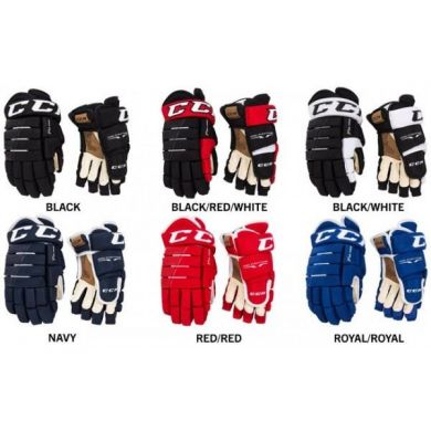 CCM HG Tacks 4Roll Pro Hockey Gloves Senior