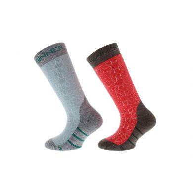 Sinner Kinder Ski Sock Stars 2-pack