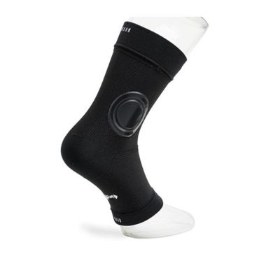 Black Shield Ankle Sock (per Paar)