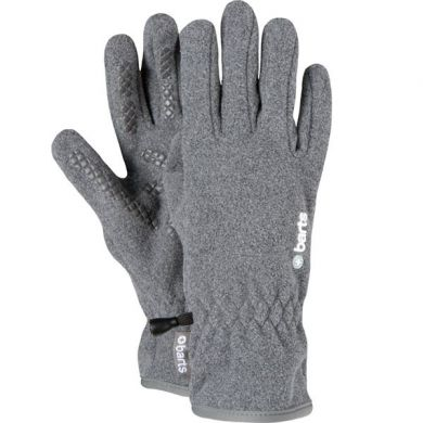 Barts Fleece Gloves (Heather Grey)