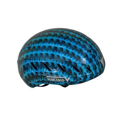 Viking Schaats Helm (Blauw)