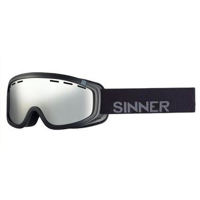 Sinner Visor Goggle III OTG MT BLK-OR MIR VENT.