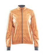 Craft Ride Dames Wind Jacket (Oranje)