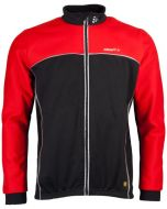Craft Thermo Jacket Windstopper (Zwart/Rood)
