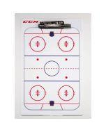 CCM Hockey Coaching Board 41x25cm