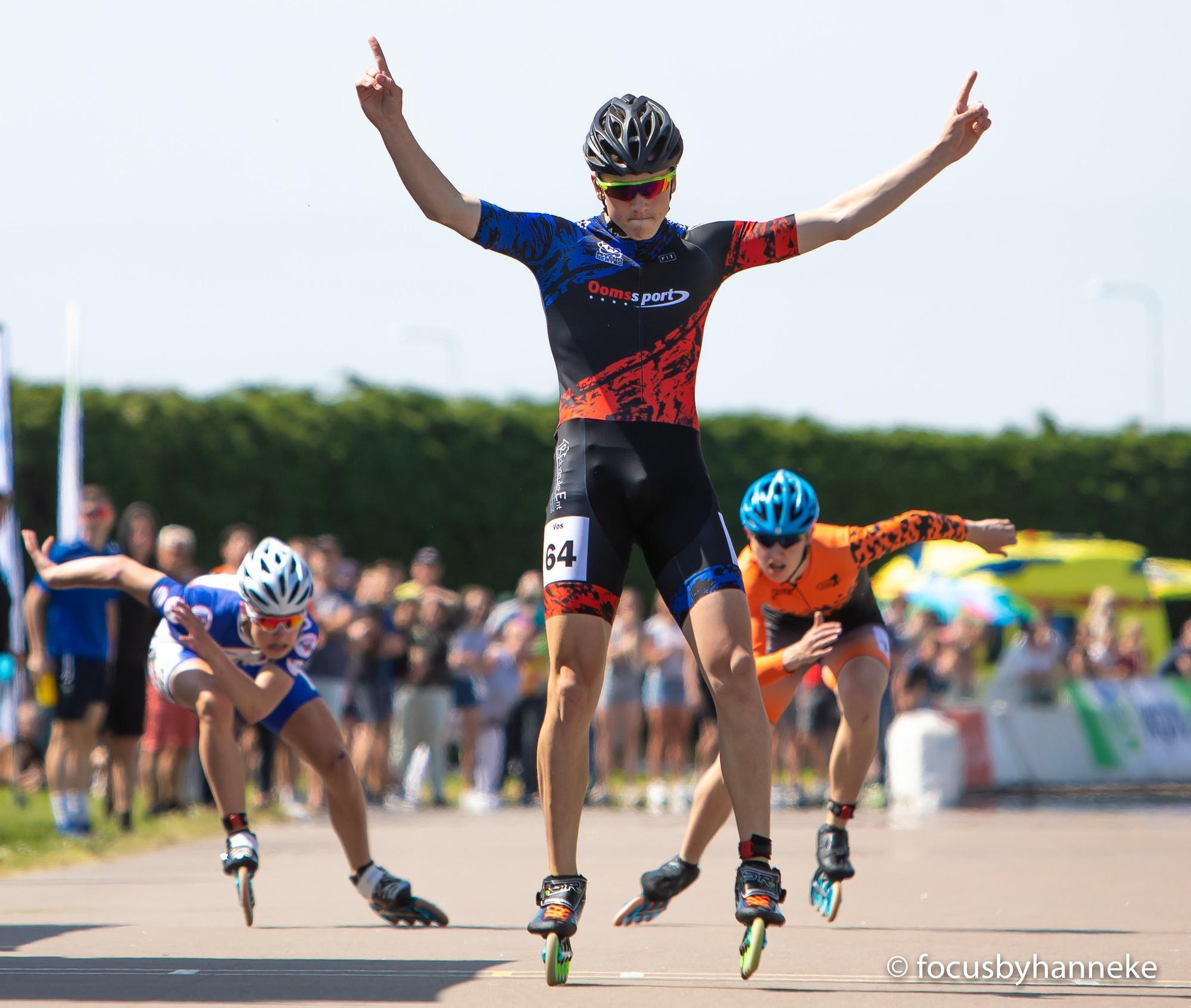 Het RTC Zuid-West inline strijd mee om de Nederlandse titels
