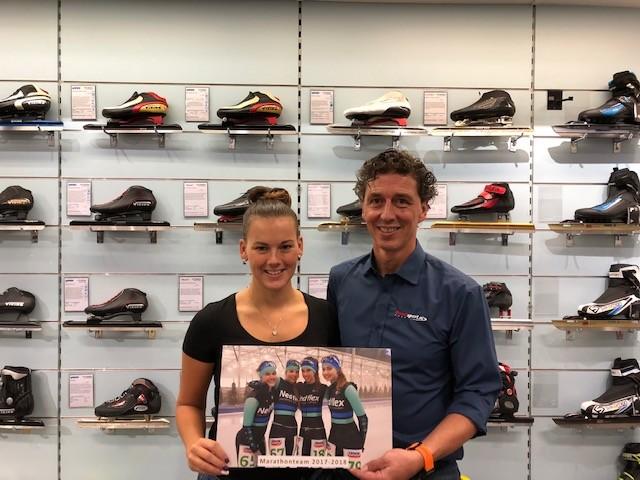 Video - Interview met Michelle de Bruijn, ex marathon schaatsster en team manager van team Nedflex.